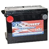 Batería de automóvil de Estados Unidos intacto 60Ah 12 V EE.UU, - batería de arranque del coche 56010