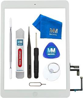Mmobiel Digitalizador Compatible con iPad Air, 9,7 Pulgadas, 2013, Pantalla táctil, Incluye Herramienta, Color Blanco