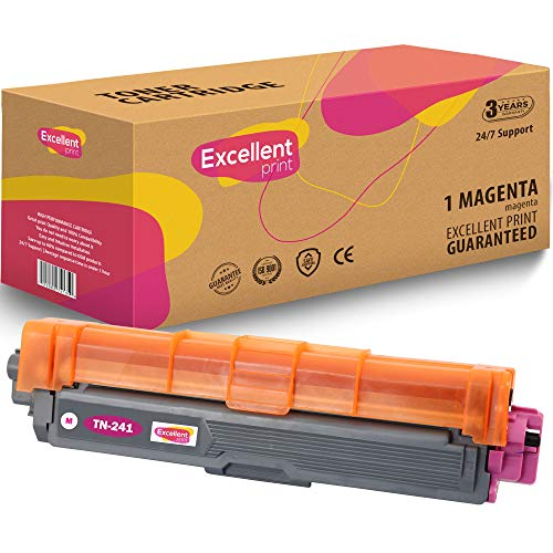 Uitstekende Print TN-241 TN-242 TN-245 TN-246 Compatible Toner cartridge for Brother HL-3140CW 3150CDW 3170CDW DCP-9015CDW 1 MAGENTA Magenta
