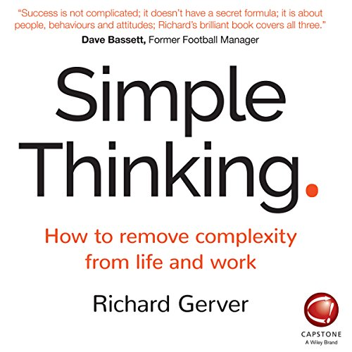 Simple Thinking audiobook cover art