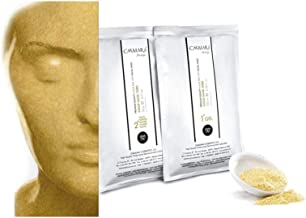 Casmara Premium Quality Algae Peel Off Facial Masks 4.26 Ounce/mask Gel(3.38 Oz)/Mask Powder(0.88 Oz) (gold)