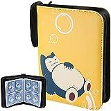 Hautton Porta Carte Pokemon, Raccoglitore Carte Pokémon Grande Album per GX Ex Pokemon Carte, 50 Pagine/può Contenere Fino a 400 Carte