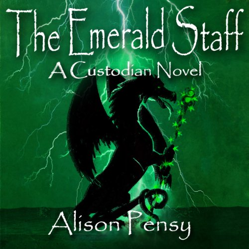 The Emerald Staff audiobook cover art