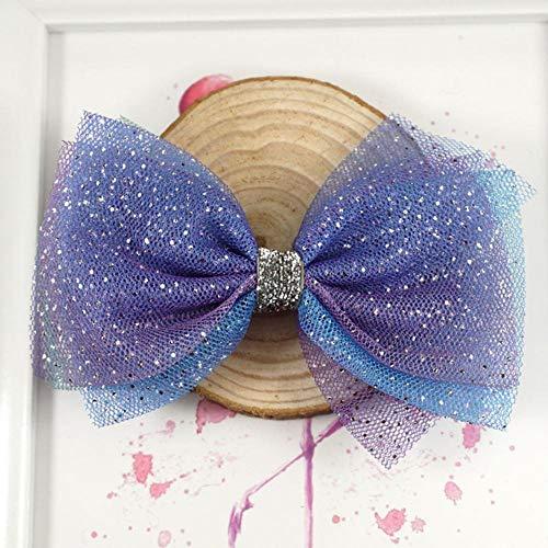 POIUDE 9 Couleurs Enfants Baby Girls Glitter Paillettes Bandeaux Sparkly Bowknot Cheveux Bandeaux Accessoires Bandeau Photographie Props