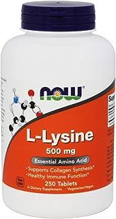 Now Foods, L Lysine, 250 Tablets