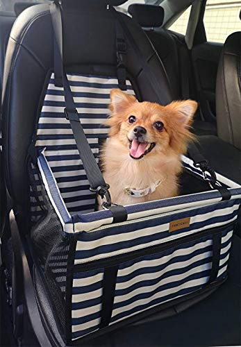 Fancydeli Dog Car Seat Upgrade Deluxe Portable Pet Dog Booster Car Seat