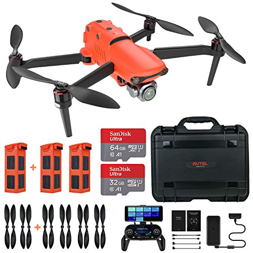 Autel Robotics EVO 2 Pro Drone 6K HDR Video Rugged Bundle (2021 Newest Fly More Combo)