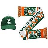 Ireland Coffret cadeau casquette et écharpe pour fans de rugby