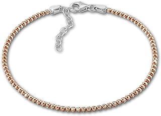 SilberDream Himbeerkette Armband 24cm Damen Armschmuck 925 ECHT Silber SDA7003J