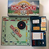 Monopoly Deluxe Edition, rare long box version from 1995