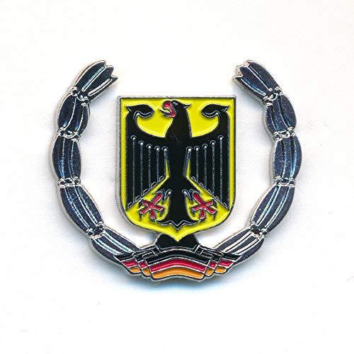 hegibaer Deutschland Berlin Europa Wappen Adler Flagge Edel Brosche Pin Anstecker 0916