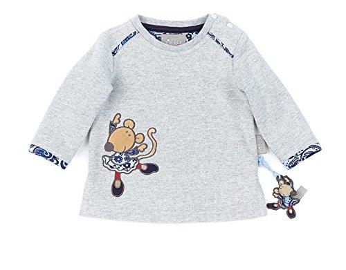 Sigikid Sweatshirt, Baby Sweat-Shirt, Gris mélangé (26), 6 Mois Bébé Fille