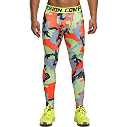 compression leggings for men multi colored