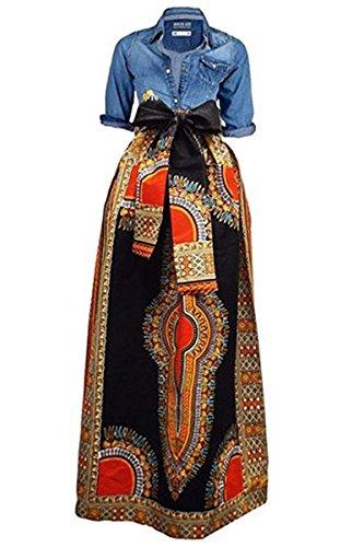 Huiyuzhi Women S African Print Skirts Lo Buy Online In Cayman Islands At Desertcart