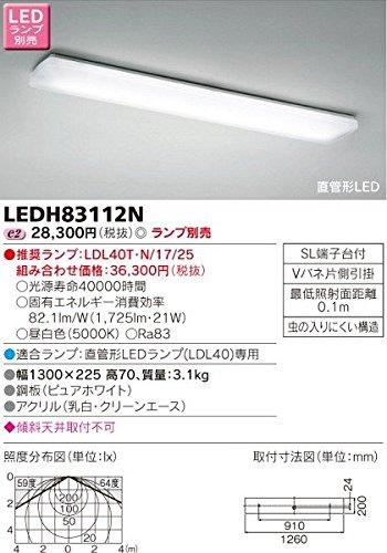 キッチン シーリングライト LEDH83112N