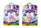 HTI Magical Kingdom 3pc Cupcake Ice Cream Girls Brillo de Labios Set - Set di lucidalabbra per Ragazze di