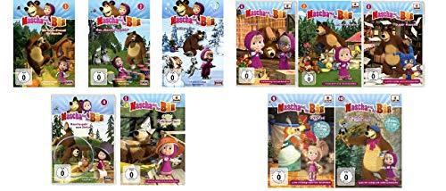 Mascha und der Bär - DVD zur TV-Serie 1 - 10 im Set - Deutsche Originalware [10 DVDs]