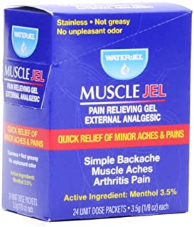 Water-Jel Technologies MJ24-576 3.5g Unit Dose Foil Pac
