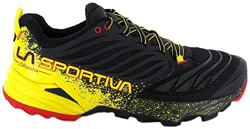 La sportiva LA SPORTIVA Unisex-Erwachsene Akasha Black/Yellow Bergschuhe, 39 EU