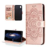 COTDINFOR Huawei Y5 2019 Case PU Leather for Girls Elegant