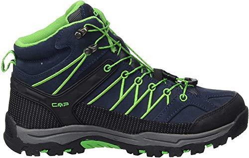 CMP Damskie buty trekkingowe Rigel Mid Shoe Wp, niebieski - Niebieski B Blue Gekon - 39 eu