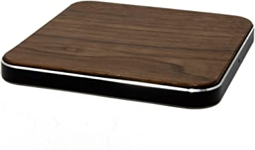 POWR Fast Wireless Charging Pad - Real Handcrafted Wood - 10w True Fast Charge 3.0 Charging Station for Samsung Galaxy S10/S10+/S9/S9+/S8/S8+ Samsung Note 9/8, Apple iPhone Xs Max/XR/XS/X/8 and More!