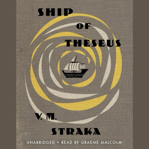 Ship of Theseus audiobook cover art