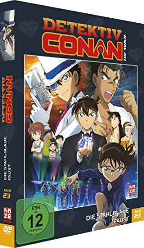 Detektiv Conan: Die stahlblaue Faust - 23. Film - [DVD] Limited Edition