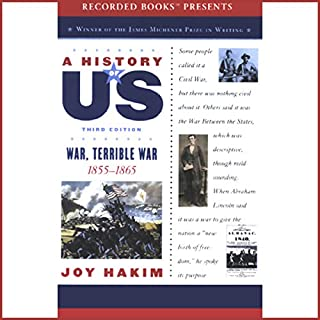 War, Terrible War audiobook cover art