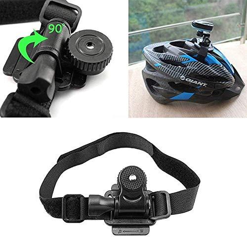 Jilibaba Soporte para casco de bicicleta Mobius ActionCam - Soporte para cámara...