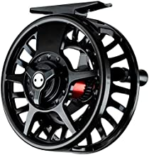 Fishing On The Fly | Fly Fishing Reel | High-Grade Aluminum Alloy | 3/4, 5/6, 7/8 Weights | Black