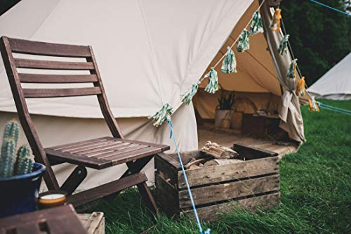 Bell Tent 4 metre with stove hole & zipped in groundsheet by Bell Tent Boutique 1