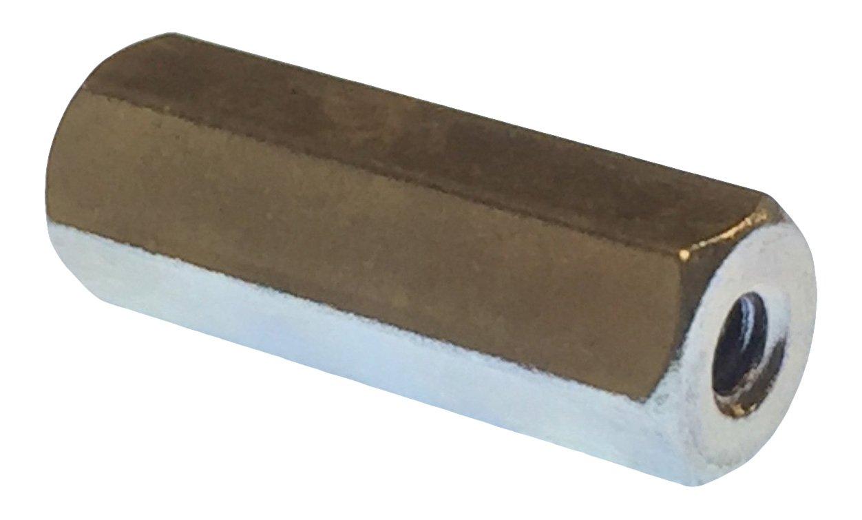 Pack of 5 Lyn-Tron Steel 2.875 Length, Zinc Plated 4-40 Screw Size Female 0.25 OD