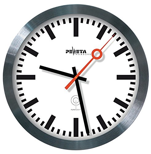 PEWETA 51.150.325 Peweta Funkuhr Bahnhof
