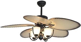 Iluminación Decorativa y para usos específicos La luz de Techo del Ventilador Retro Hogar luz Ventilador de Techo Living Comedor luz Ventilador de la habitación Loft araña de Viento Industrial