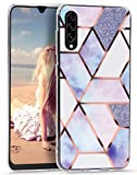 Imikoko A70 Case for Samsung Galaxy A70 Glitter Marble