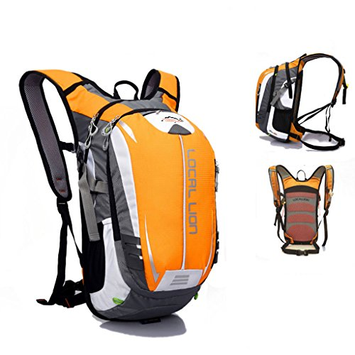 SINCERE@ Outdoor équitation sac à dos d'hydratation sac à dos petits respirants légers sacs sac de sport d'alpinisme (Jaune)