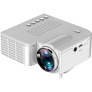 dianhai306 Proyector, Mini proyector Native 1080 1920p, Proyector ...