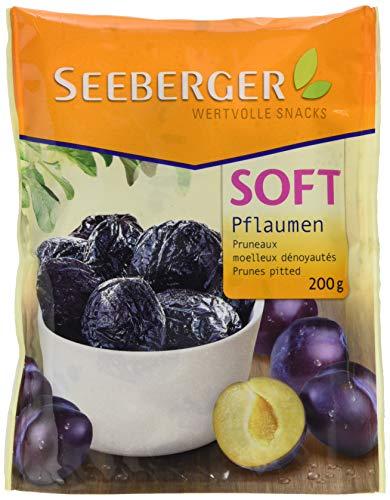 Seeberger Soft-Pflaumen entsteint, 13er Pack (13 x 200 g Beutel)