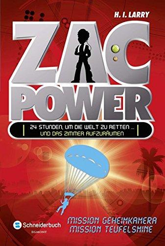 Zac Power, Band 07: Mission Geheimkamera und Mission Teufelsmine