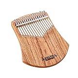 SFFSM 17 Claves Kalimba Caoba del Pulgar del Dedo del Piano de percusión Africana alcanfor de Madera for Instrumentos Musicales Mbira likembe Sanza Calimba (Color : K17CAS)