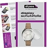 dipos I 6X Schutzfolie klar kompatibel mit Fossil Q Accomplice Folie Bildschirmschutzfolie