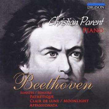 Beethoven: 3 Sonates, Pathétique, Clair De Lune, Appassionata
