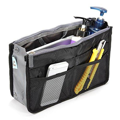 BlueBeach® Organizzatore Sacchetto in Sacchetto Inserire viaggio per la borsa - (Nero)