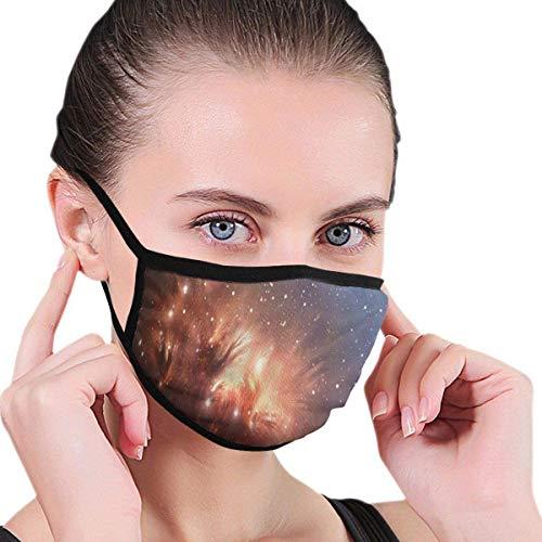 Detailliertes Bild von Nebula Cloud Gas Universe Mundabdeckungen, Hygienemaske, Gesichtsmasken