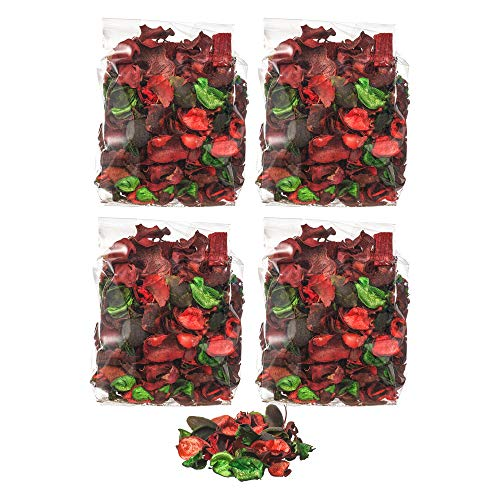 Ikea Dofta Potpourri Rote Gartenbeeren – Set mit 4 Beuteln, rot, 4er-Set