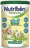 Nutribén Infusiones Alivit Confort Manzanilla y Hierba Luisa, 150 g