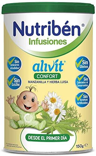 Nutriben Infusiones Alivit Confort Manzanilla y Hierba Luisa, 150 g
