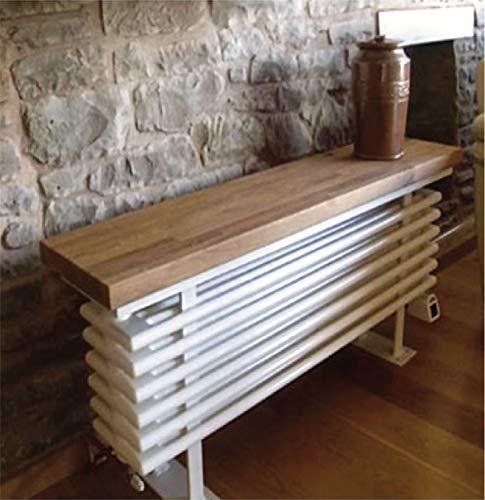 TowelRads Sitzbank mit Heizkörper aus Eichenholz, 520 x 1050 mm, Zentralheizung