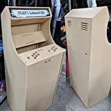 Easy to Assemble 2 Player 54' Cabaret Arcade Cabinet Kit (Sanwa)